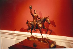 Reagan on a Horse Bronze